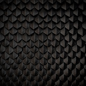 Fantasy dragon skin from black scales