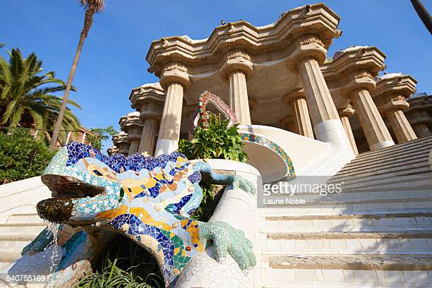 Dragon Stairway, Parc Guell