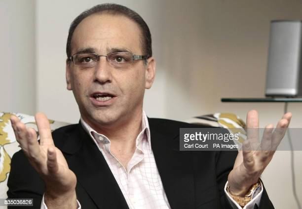 Dragons Den star Theo Paphitis speaks at the launch of the Smarta website in central London