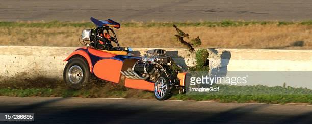 Dragster Crash