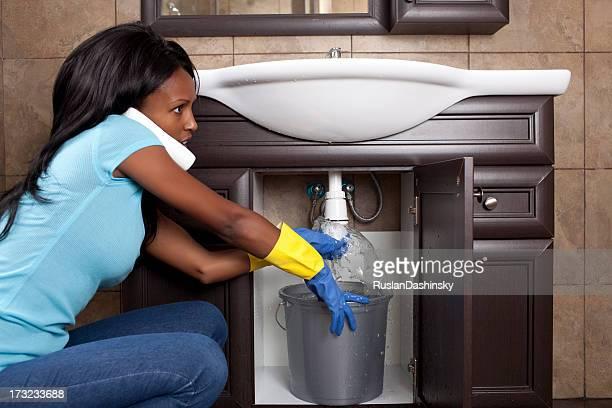 Abfluss Waschbecken pipe sorgt.