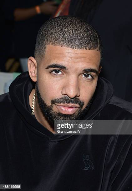 Drake attends the Serena Williams Signature Statementby HSN show during Spring 2016 Style360 on September 15 2015 in New York City