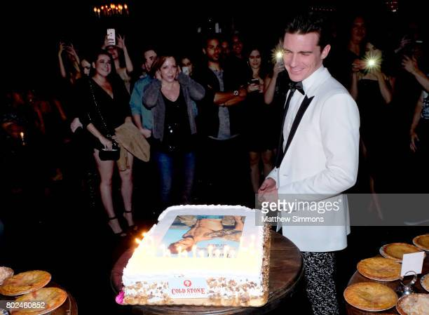 Drake Bell attends his birthday celebration at Black Rabbit Rose on June 27 2017 in Los Angeles California
