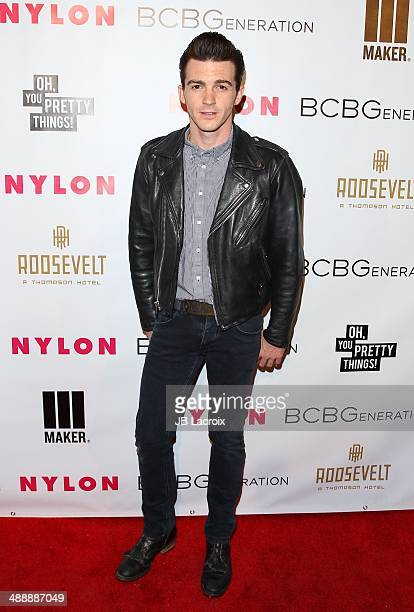 Drake Bell attends the Nylon Magazine May Young Hollywood Issue Party on May 8 2014 in Hollywood California
