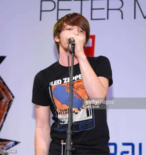 Drake Bell during PS Arts Express Yourself November 5 2006 at Barker Hanger in Santa Monica California United States