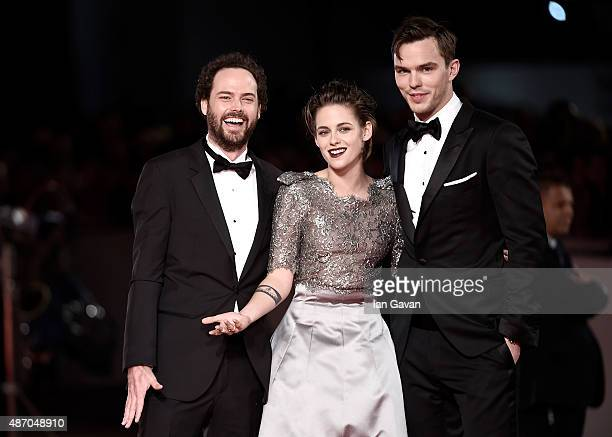 Drake Doremus Kristen Stewart and Nicholas Hoult attend the premiere of 'Equals' during the 72nd Venice Film Festival at the Sala Grande on September...