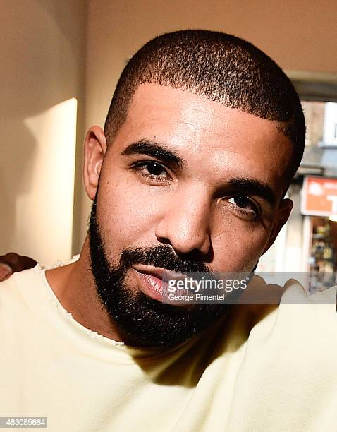 Drake makes a surprise appearance at the screening of 'We Are Disorderly' held at The Royal Cinema on August 5 2015 in Toronto Canada