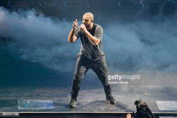 Drake performs at First Direct Arena on February 9 2017 in Leeds United Kingdom
