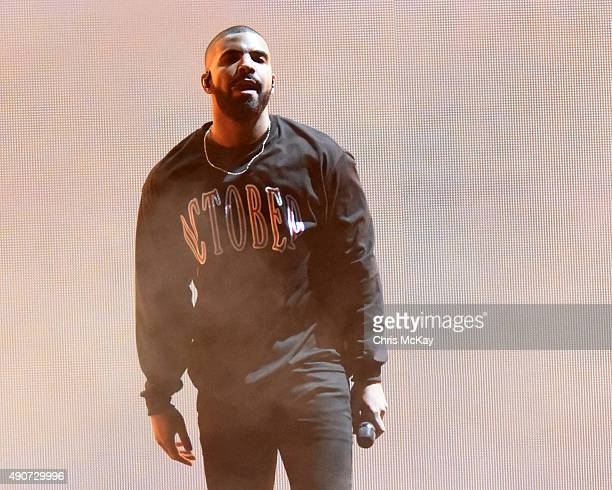 Drake performs at Music Midtown at Piedmont Park on September 18 2015 in Atlanta Georgia