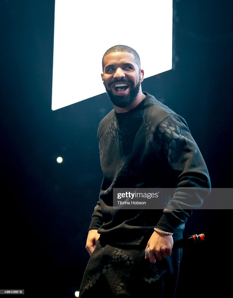 <a gi-track='captionPersonalityLinkClicked' href=/galleries/search?phrase=Drake+-+Entertainer&family=editorial&specificpeople=6927008 ng-click='$event.stopPropagation()'>Drake</a> performs at REAL 92.3's 'The Real Show' at The Forum on November 8, 2015 in Inglewood, California.