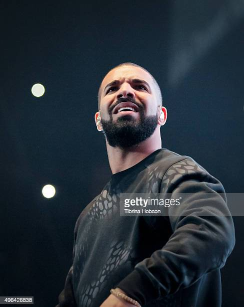 Drake performs at REAL 923's 'The Real Show' at The Forum on November 8 2015 in Inglewood California
