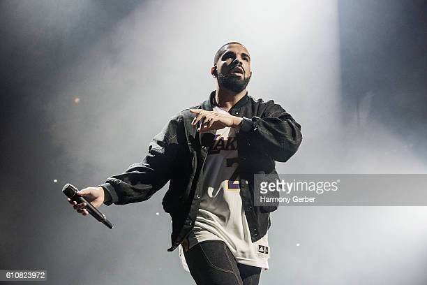 Drake performs at The Forum on September 27 2016 in Inglewood California