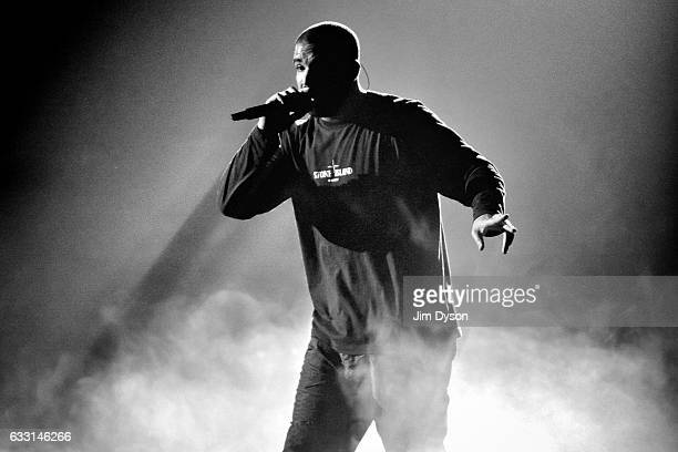 Drake performs live on stage at The O2 Arena on January 30 2017 in London United Kingdom