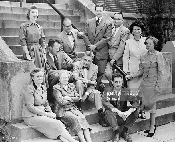 DrAlfred CKinsey head of the Indiana University Institute for Sex Research sits with his staff on the steps of Wylie HallThe new Kinsey bookSexual...
