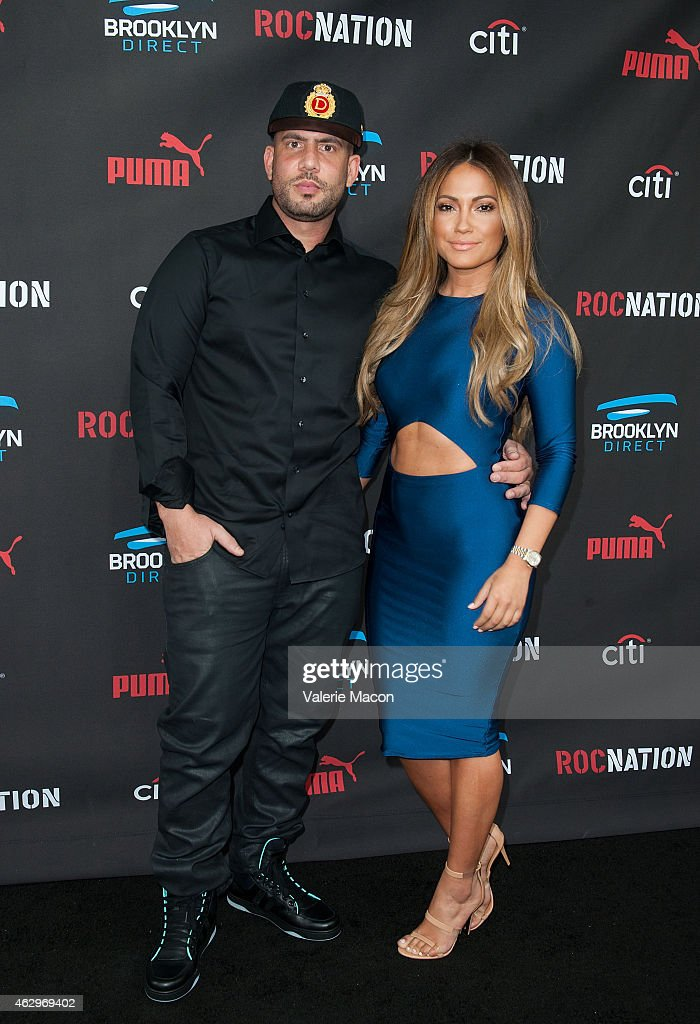 Drama and model Jessica Burciaga arrive at the Roc Nation PreGRAMMY Brunch on February 7 2015 in Beverly Hills California
