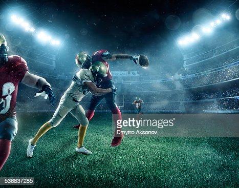 Dramatic american football