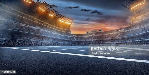 Dramática Estádio de Futebol Americano