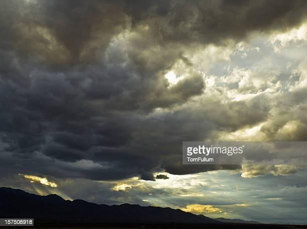 Dramatische schönen Himmel