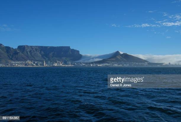 Dramatic clounds over Table Mountain, Cape Town