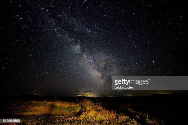 Dramatic Galactic Skies over South Dakota