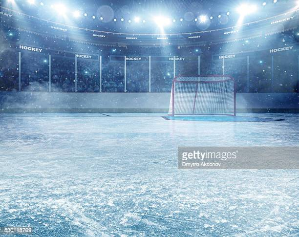 Dramatische ice hockey arena