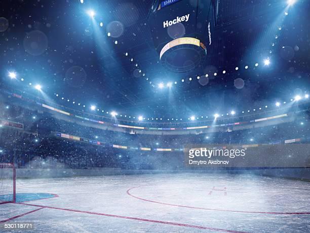 Impresionante Estadio de hockey sobre hielo