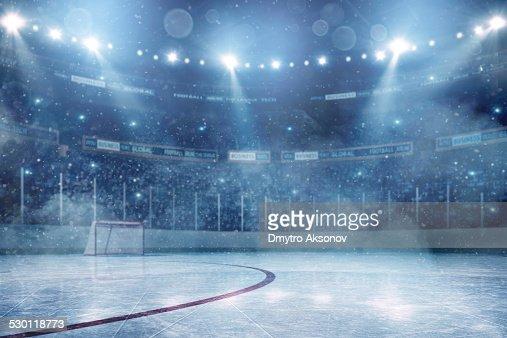 Spettacolare arena di hockey su ghiaccio