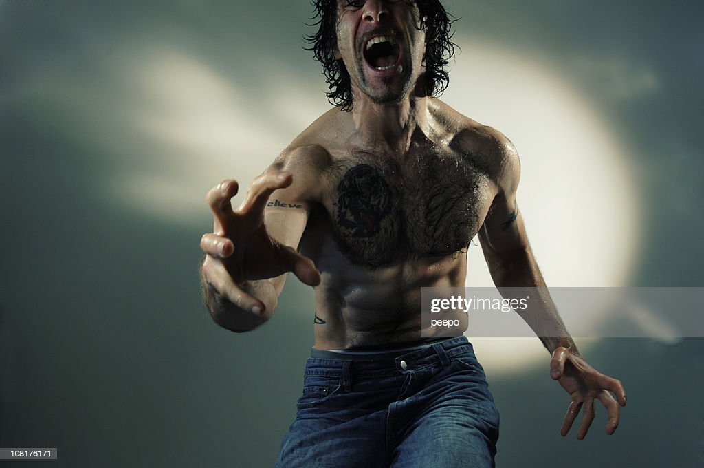 dramatic man series : Stock Photo