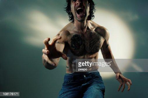 dramatic man series : Stock Photo