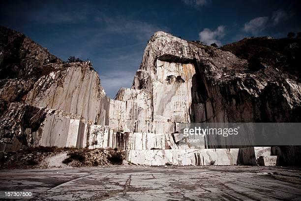 Dramatic Marble Quarry