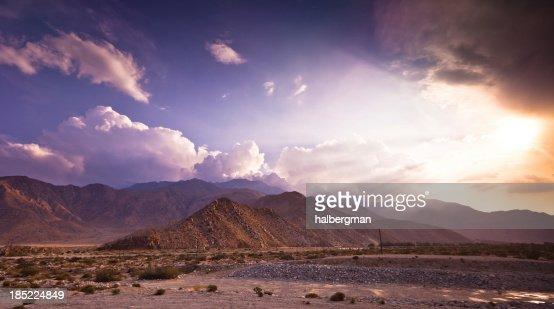 Dramatic Palm Springs Landscape