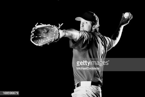 Superbe Joueur de baseball