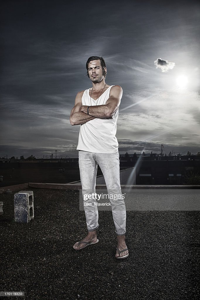 Dramatic portrait of a man