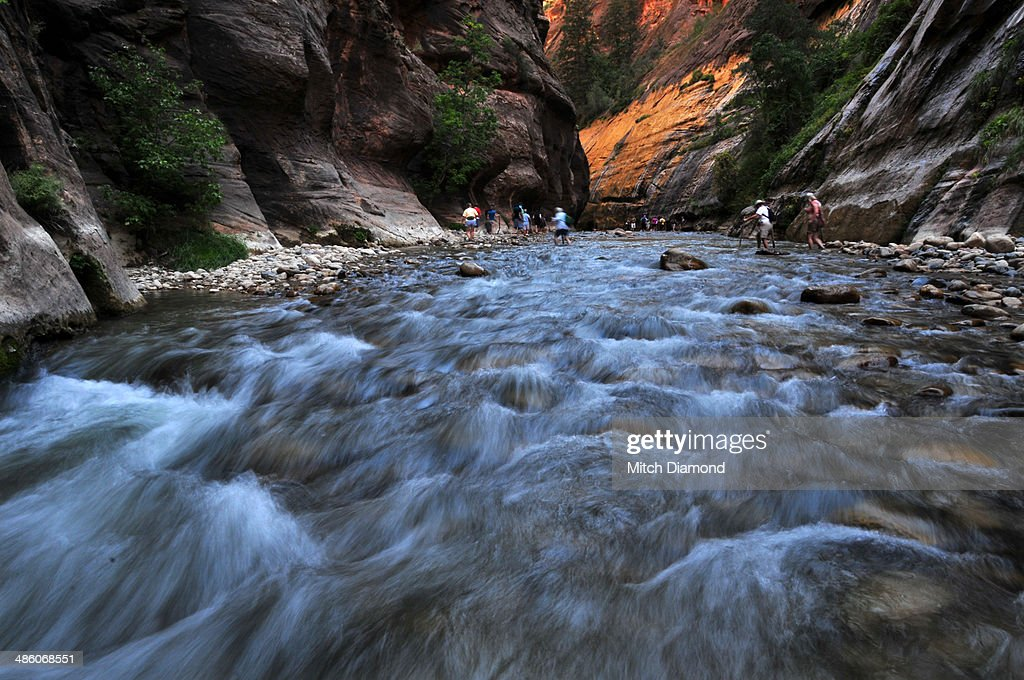 Dramatic scenery of Zion National Park