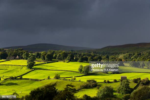Dramatic September weather in the Yorkshire Dales, England