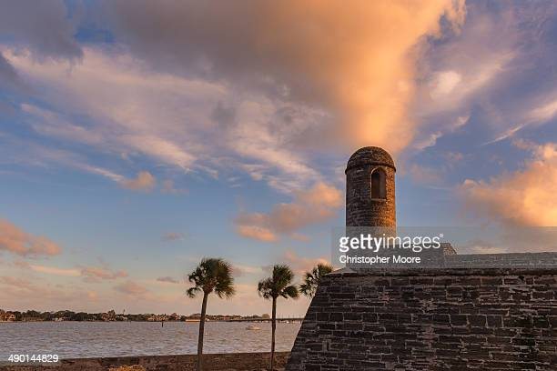 CONTENT] Dramatic skies over Castillo San Marcos St Augustine Florida