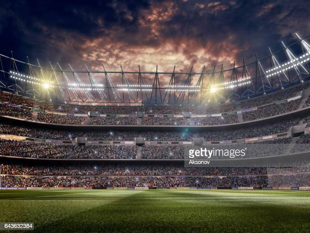 ドラマチックなサッカースタジアム