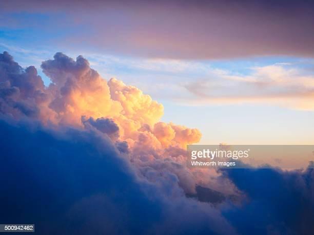 Dramatic stormy sky, Annapurna Himalayas, Nepal