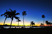 Dramatic Sunset of MIAMI