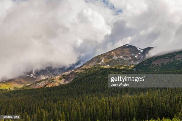 Dramatic View along the Icefields Parkway, Banff NP, Canada