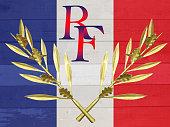 Drapeau français - République française - Hommage - Histoire de France