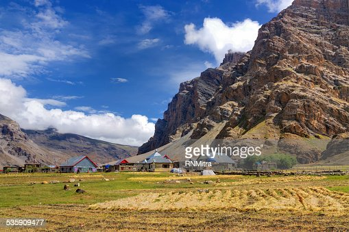 Drass village, Kargil, Ladakh, Jammu y Cachemira, India : Foto de stock