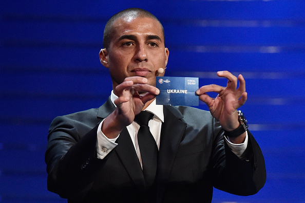 Euro draw stock photos and pictures getty images for David trezeguet