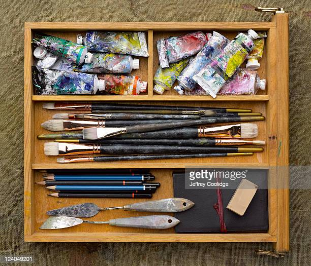 Drawer With Art Supplies