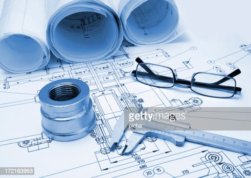 drawing and tools with glasses