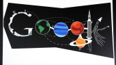 A drawing by Ryan Shea a 7th grader at Creighton Middle School in Lakewood is the Colorado winner in the Doodle 4 Google contest April 29 2014 The...