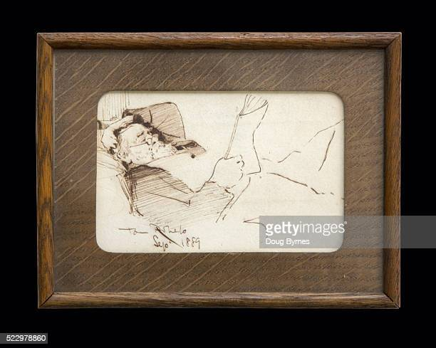 Drawing by Tom Roberts
