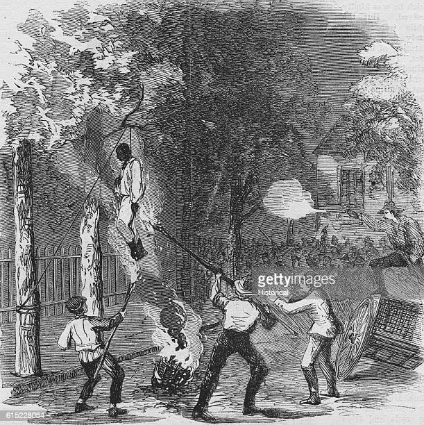 Hanging a Negro on Clarkson Street