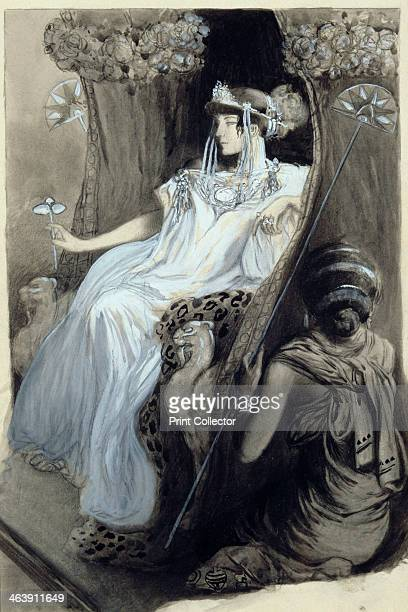 Drawing for Aphrodite by Pierre Louys 1896 From a private collection