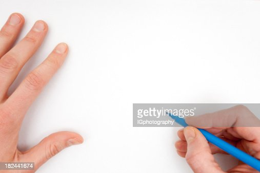 Drawing on a White Sheet